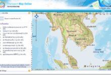 แผนที่ประเทศไทย ชัดๆ