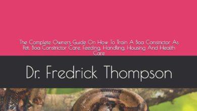 housing a boa constrictor
