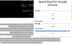 ความเร็วในการอ่าน