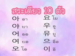 เรียนภาษาเกาหลี