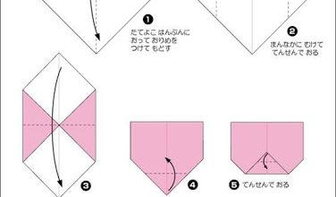 วิธีพับกระดาษ