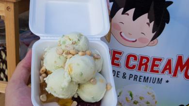 ไอศกรีม ขาย